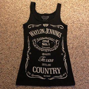 Tops - Waylon Jennings Tank